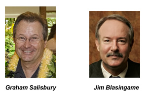 authors Graham Salisbury and Jim Blasingame